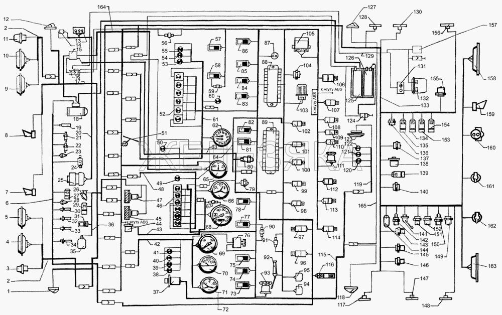 Электрооборудование от КрАЗа 65053 title=
