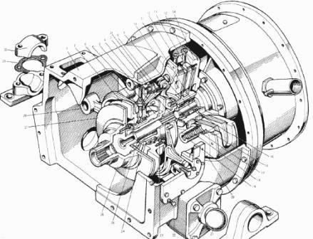 Сцепление на автогрейдер ДЗ-98