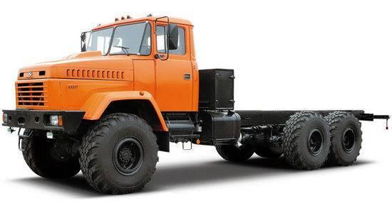 Шасси для КРАЗ 63221 04 купить в компании Лидер